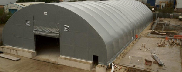 Fabric Shelter Foundation