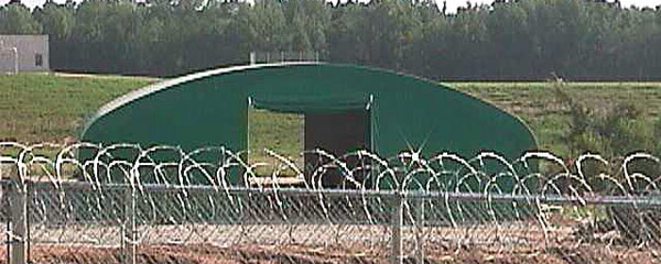 Fabric Shelters for Prisons