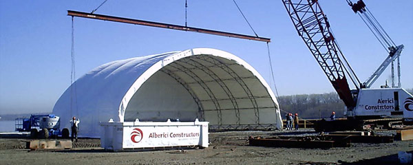 Relocatable Fabric Structures