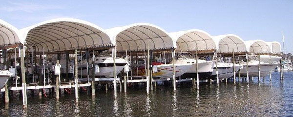 Fabric Structures Boat Storage