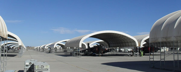 Military Turnkey Solutions for Fabric Shelters