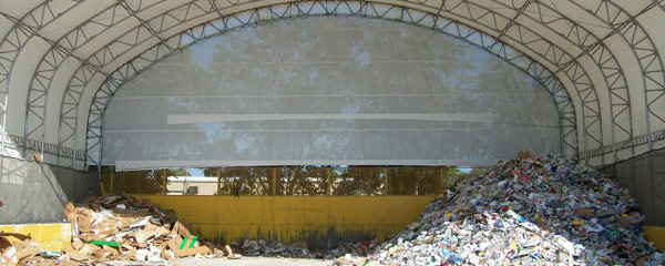Waste Management Fabric Shelters