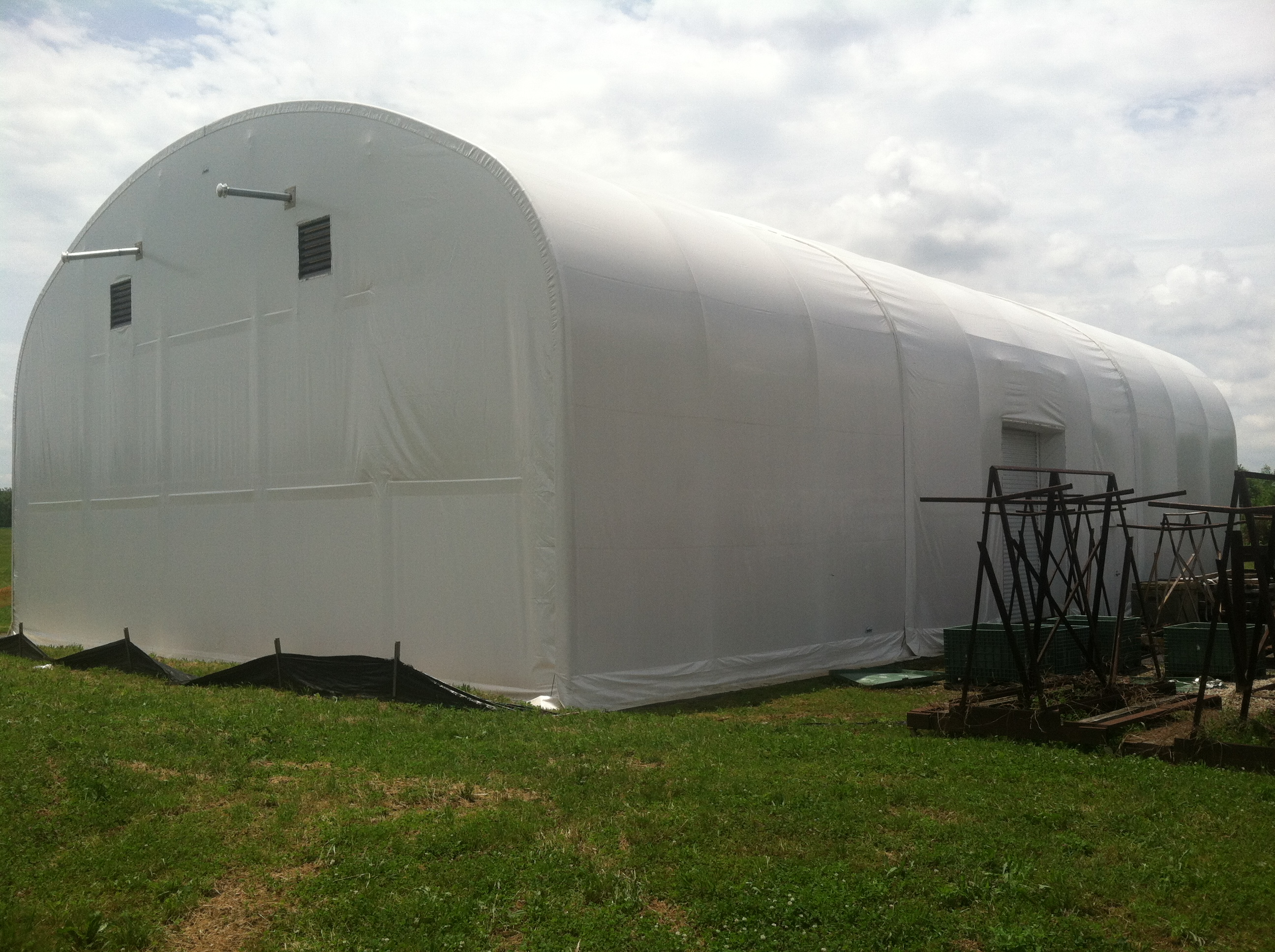 Big Top Shelters : Used fabric structures for sale great deals call