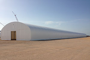Tensioned Fabric Building