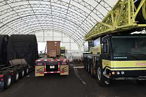 Industrial Tent Buildings Interior