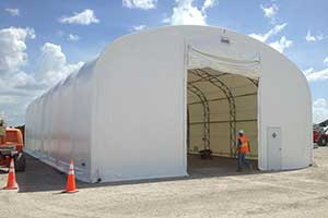 Temporary Tent Buildings