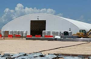 & Commercial Industrial Storage Tents
