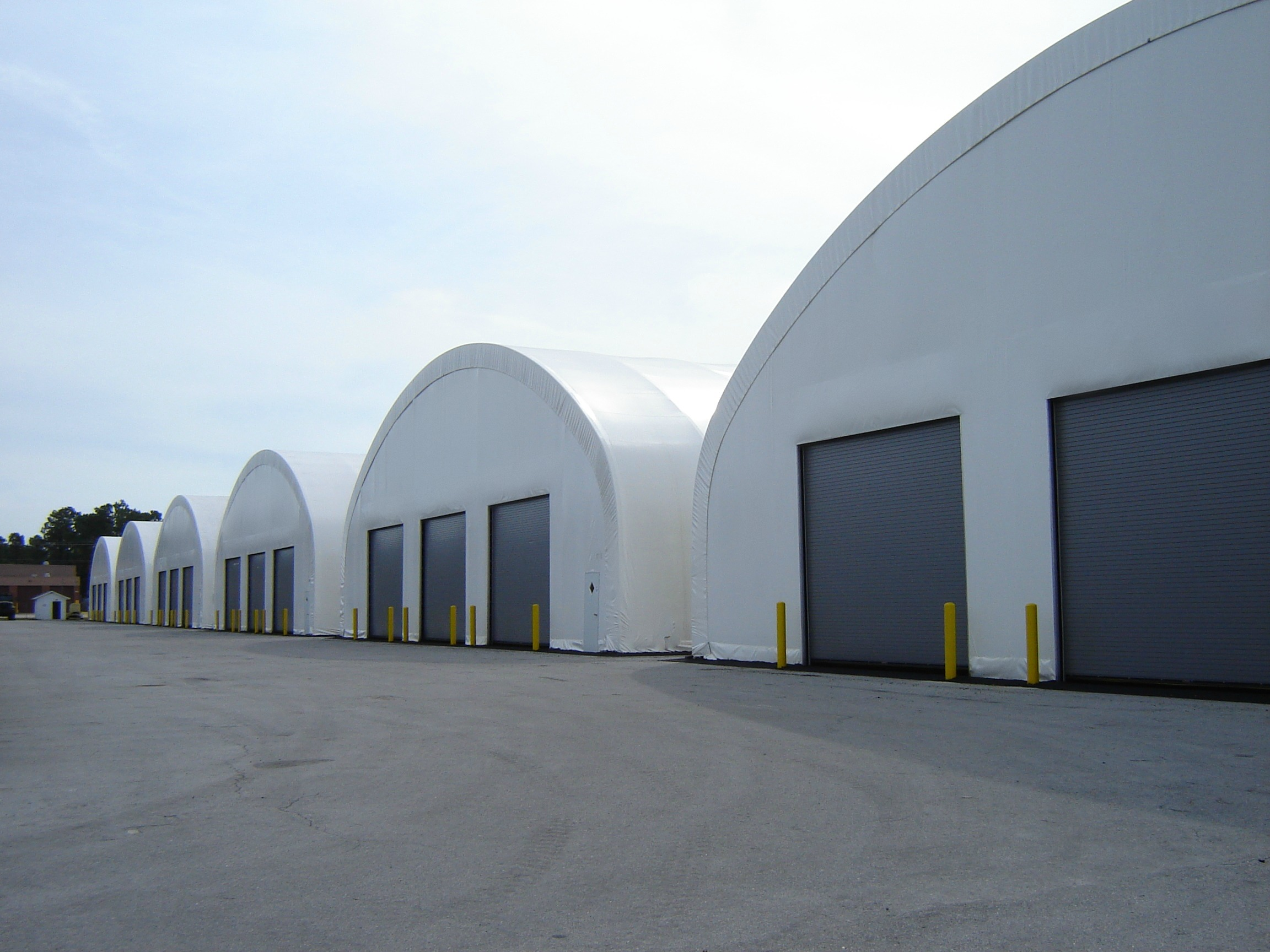 Fabric Structures Warehousing For Constuction Sites