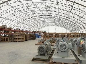 Fabric Structures as Warehouses