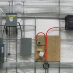 Electrical Panels for Fabric Shelters
