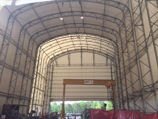 Used Fabric Structures For Sale Great Deals Call 800