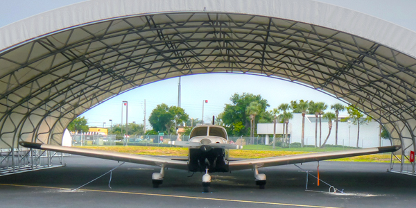 Showalter Aviation rebuilds with Big Top after costly hurricane