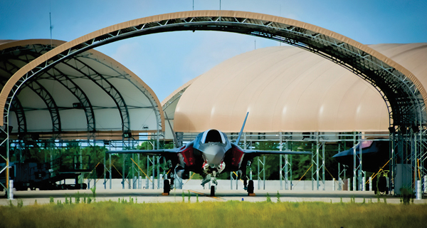$150M elite F-35's now protected from Florida's blistering heat