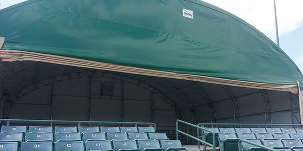 Lancaster JetHawks – Weather Proof Concessions & VIP Areas