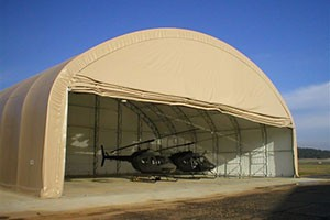 Helicopter Hangar Military Big Top Fabric Structures
