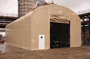 Temporary Storage Buildings Construction