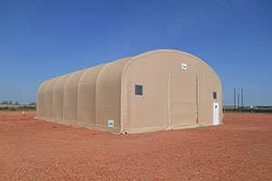 Temporary Tension Fabric Buildings