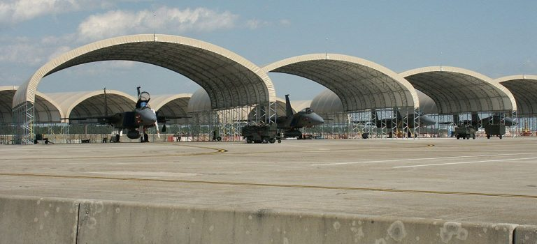 Flightline Sun Protection Shelters