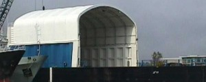 Fabric Structures for Cargo Storage