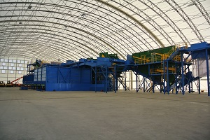 Fabric Structures for Waste Management