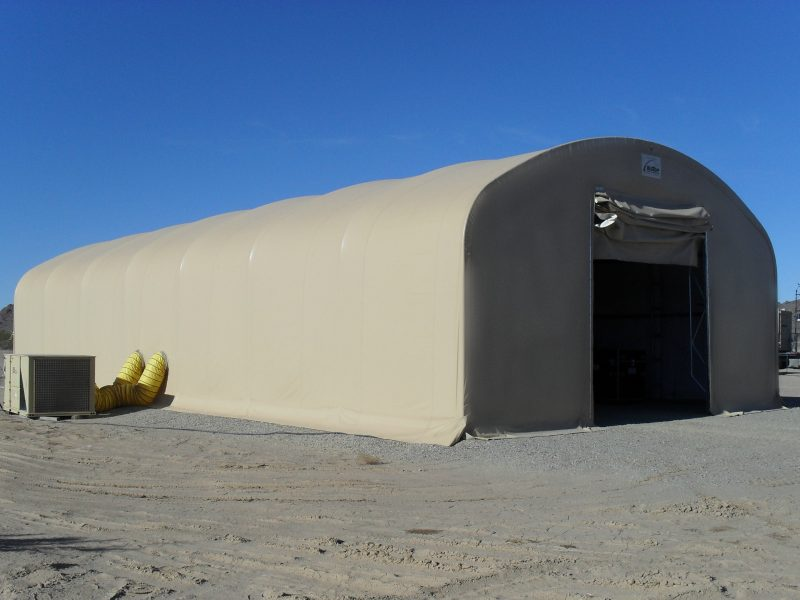 Soft Wall Expeditionary Shelters