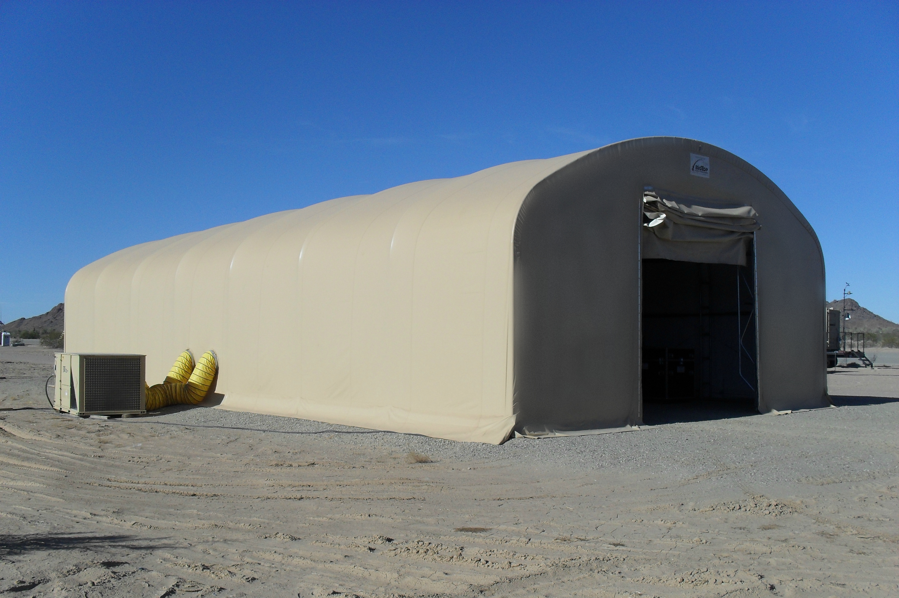 Soft Wall Expeditionary Shelters Military Tents Big Top