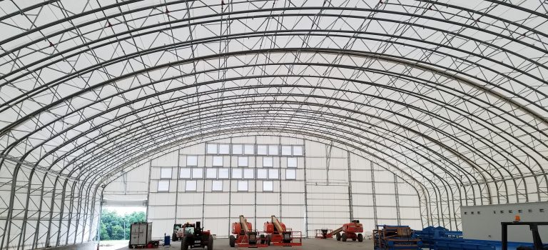UV Protective Fabric Buildings