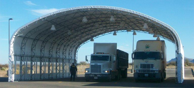 Vehicle Inspection Shelters