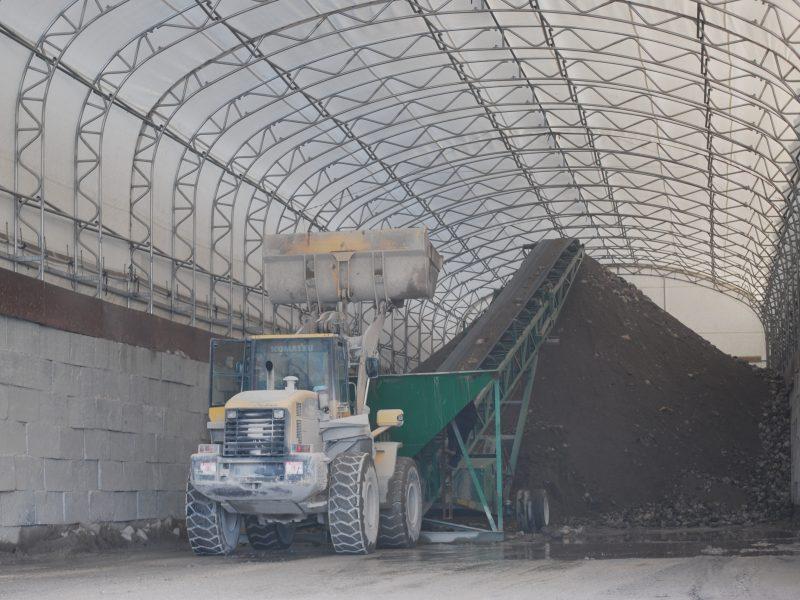 Salt & Sand Storage