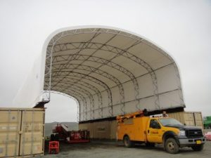 Equipment Storage, Fabric Structures