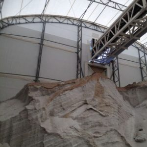 Salt and Sand Storage, Fabric Structures