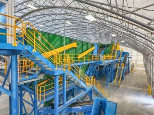 Waste Recycling, Fabric Structures