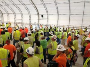 Lunchrooms, Safety Meetings, Mining & Mineral