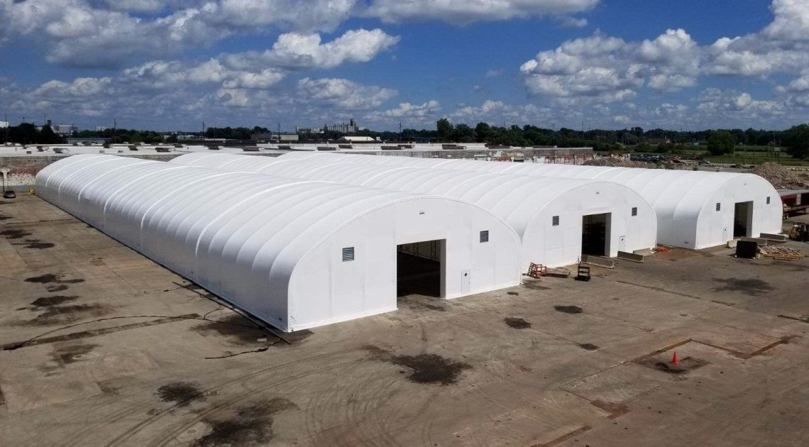 Fabric Structures | Fabric Covered Buildings | Storage Tents