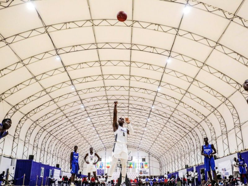 Africa's First NBA Academy Training Facility for Educating & Developing Africa's Youth
