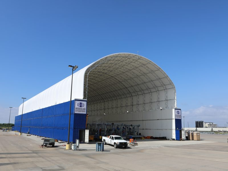 A State-of-the-Art Module Assembly Bay for S&B Modular Operations