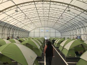 Rapid-Deploy Medical Tents